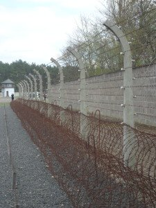 Sachsenhausen electric fencing