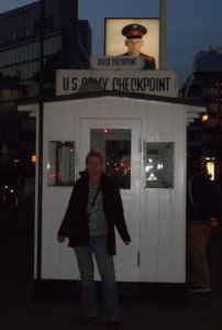 Checkpoint Charlie US west Side