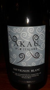 The Red Lion AKau wine from New Zealand Sauvignon Blanc