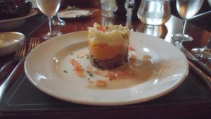 Dryburgh Abbey haggis neeps and tatties
