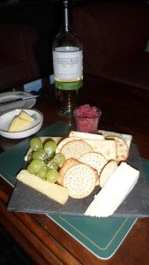 Dryburgh abbey hotel cheese and biscuits